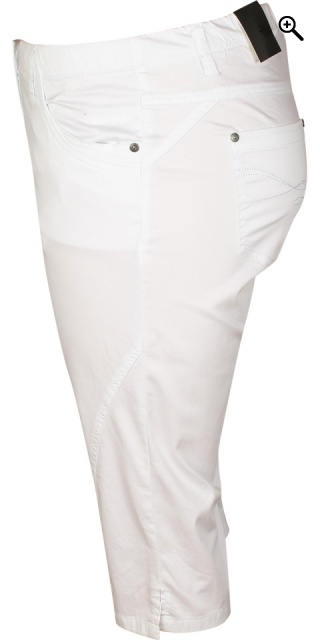 Zhenzi - Bermuda twist pants - White