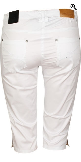 Zhenzi - Bermuda twist pants