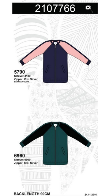 Zhenzi - Smart lang Windjacke