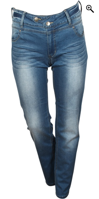 Adia Fashion - Jeans lucca fantastisk pasform - Blue wash