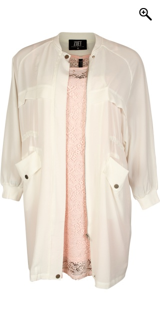 Zoey - Really smart shirt jacket