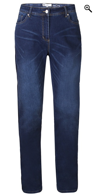 Zhenzi - Stomp super strechy jeans - Pitt blue wash