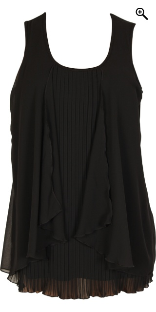 One More - Fantastisk flot handberg top - Black