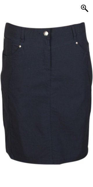Zhenzi - Bengalin skirt from zhenzi - Navy