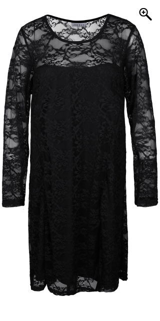 Zhenzi - Custom tailored lace dress - Black
