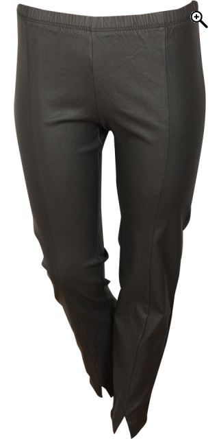 Zhenzi - Coatede twist pants - Black
