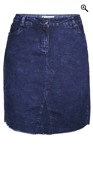 Zhenzi - Denim skirt 5 pockets