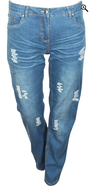 Zhenzi - Stomp denim jeans pants