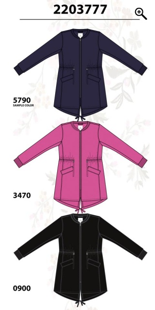 Zhenzi - Cardigan jacket in fine quality which are closed