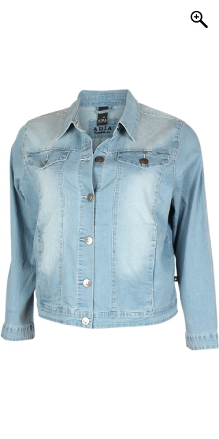 Adia Fashion - Klassisk denim jakke