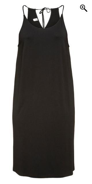 352bbef76949 Que - Strop kjole med slidser i begge sider