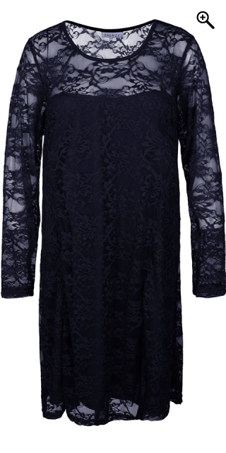 Zhenzi - Custom tailored lace dress - Navy