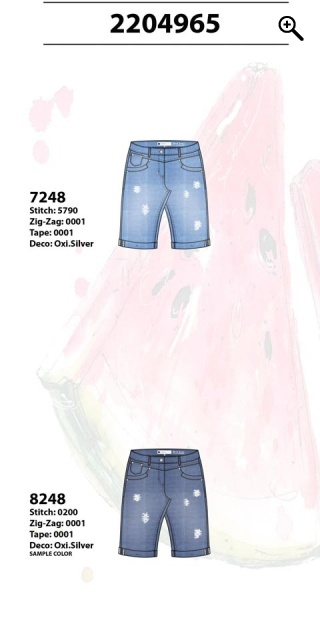 Zhenzi - Shorts step fit in super strechy material