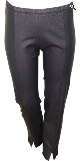 Zhenzi - Coatede twist pants - Navy