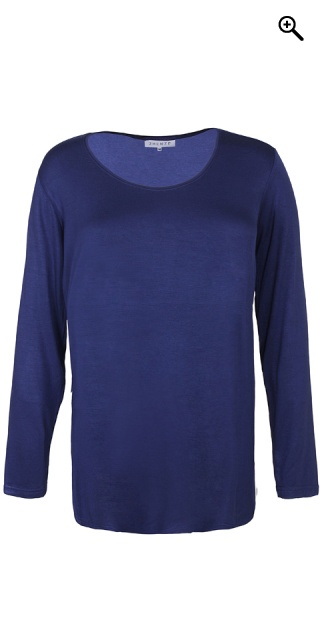 Zhenzi - Basis t-shirt i meget strechy materiale - Blue crown