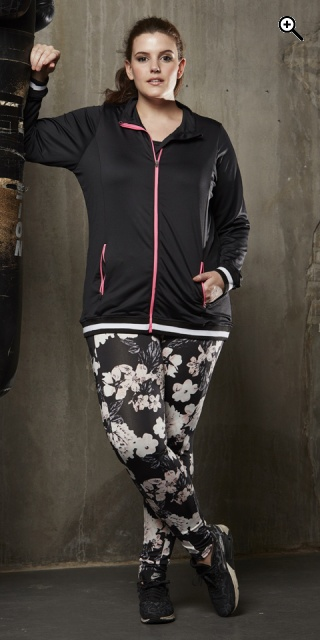 Zhenzi - Blomstrede fitness leggings