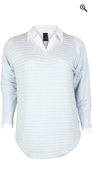 Zhenzi - Lett strikk pullover - Skyway