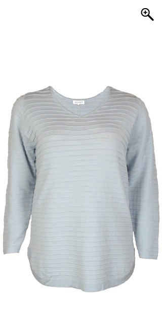 Zhenzi - Let strik pullover - Skyway