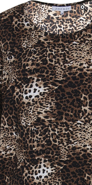 Zhenzi - Stretchable leopard tunica