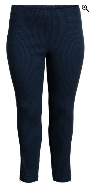 CISO - 7/8 stretch pants - Navy