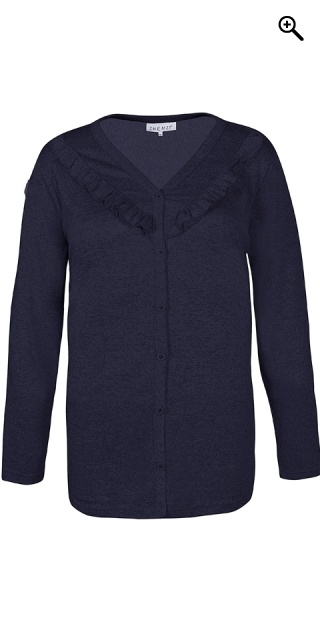 Zhenzi - All-buttoned cardigan - Navy