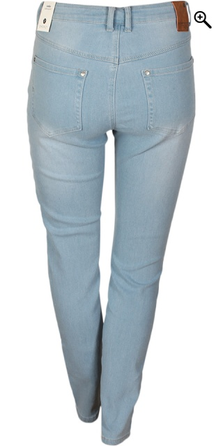 Zhenzi - Jeggings samba super slim passform i strechy denim