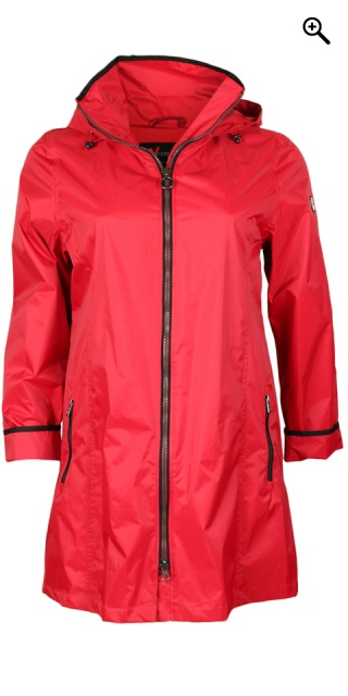 Normann - Rain jacket - Red