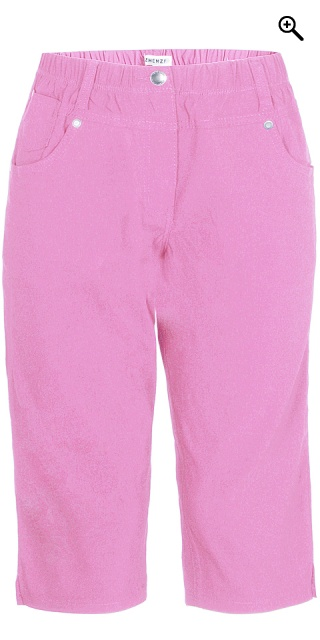 Zhenzi - Twist pants strechy bengalin pirate pants - Cyclamen