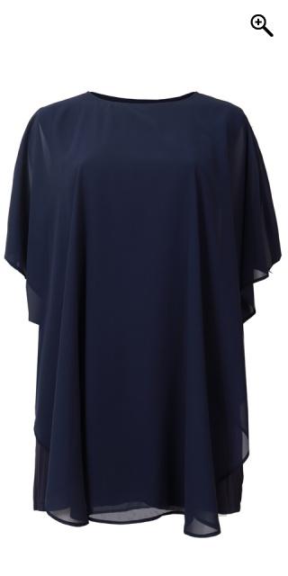 1c4cf924 Cassiopeia - Marciella chiffon dress - Navy