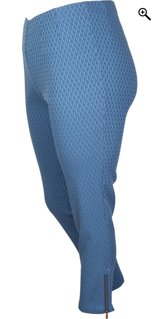 CISO - 7/8 stretch pants - Blue