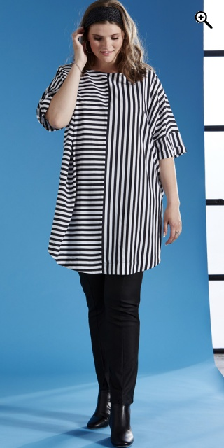 Zhenzi - Tunica little oversize - Black