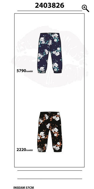 Zhenzi - Pants loose fit in strechy material