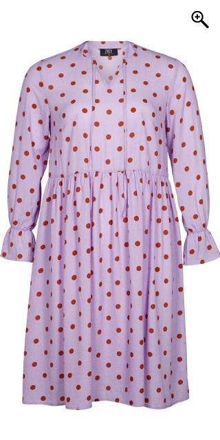 Zoey - Dottie dress dress in nice crepe