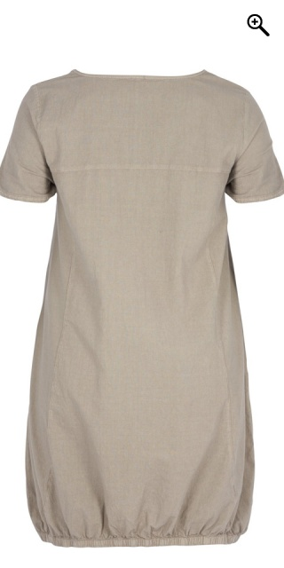 Zizzi - Dress with short sleeves
