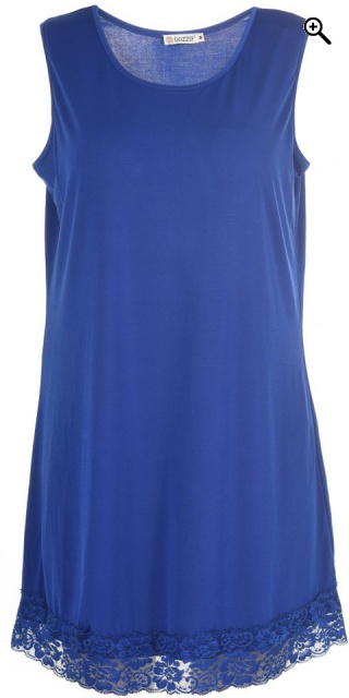 Gozzip - Long slip - Royal blue
