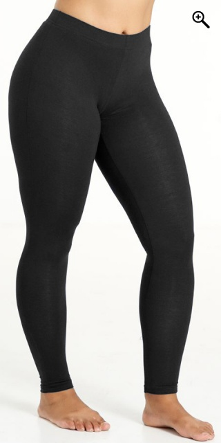 Sandgaard - Jersey leggings - Black