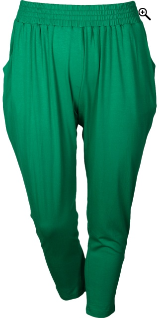 Gozzip - Pants loose fit 7/8 i strechy materiale