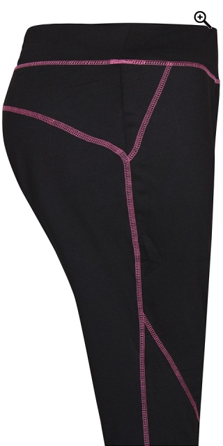 Zhenzi - Fitness Capri Leggings in strechy Material
