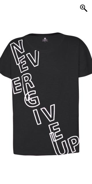 6e0d5c2bb555 Zhenzi - Skøn bomulds t-shirt med kort vingeærme i fitness serien ...