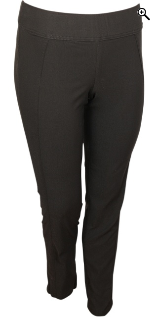 Zhenzi - Twist pants - Black