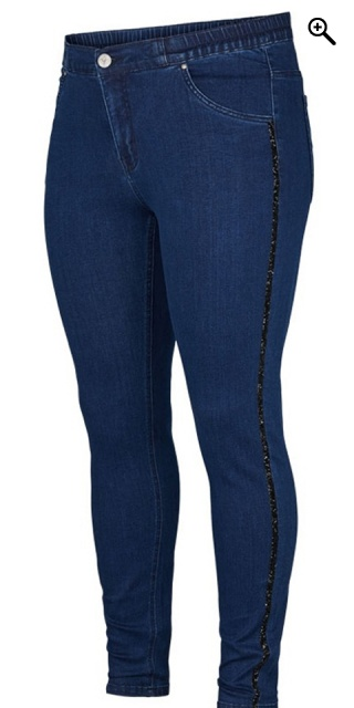 Adia Fashion - Legging jeans - Dark blue