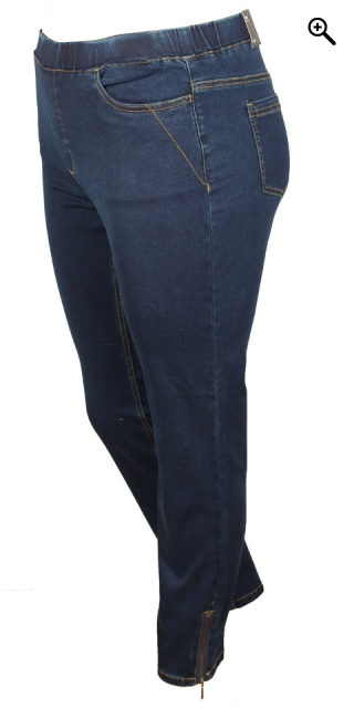 CISO - 7/8 bukser - Dark blue denim