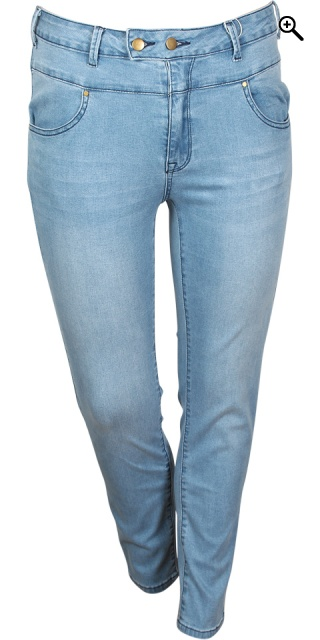 Cassiopeia - Millarita Jeans mit super stretch - Light blau