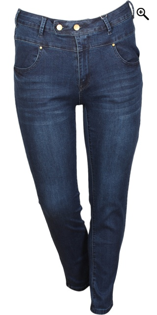 Cassiopeia - Millarita jeans with super strech - Dark blue