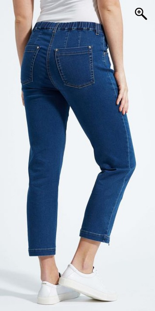 LauRie - Piper regular cropped jeans