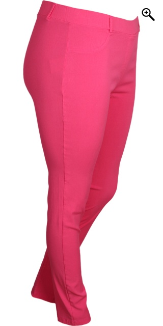 Sandgaard - Basis long stretchable bengalin pants - Fuchsia