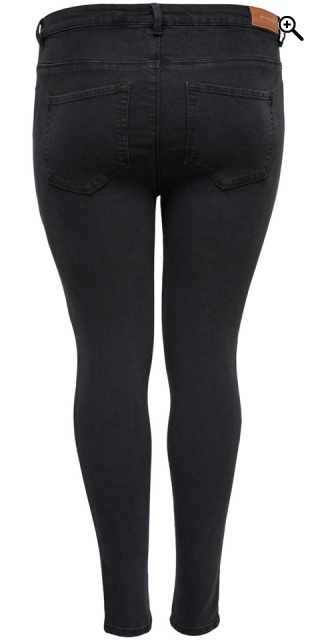 ONLY Carmakoma - Carrina high waist jeans