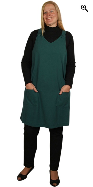 Zhenzi - Spencer kleid n/s - Bug green
