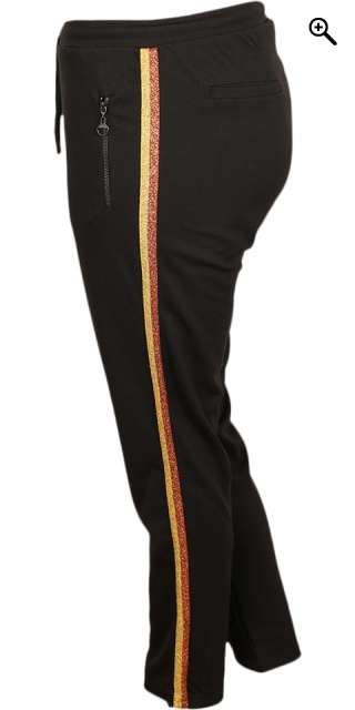 Cassiopeia - Siggi pants - Black golden combi