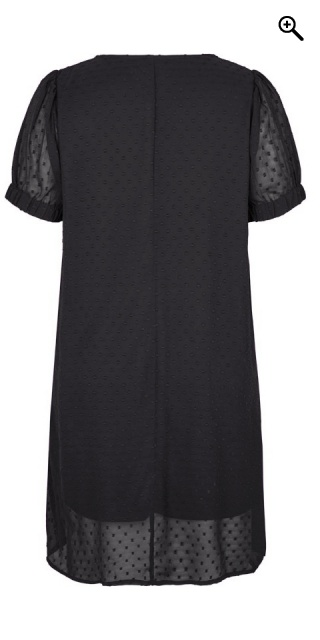 Adia Fashion - Chiffon dress with weave